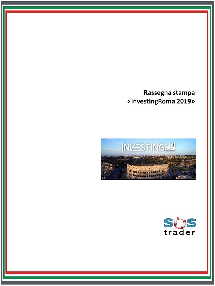 Investing Roma 2019 rassegna stampa